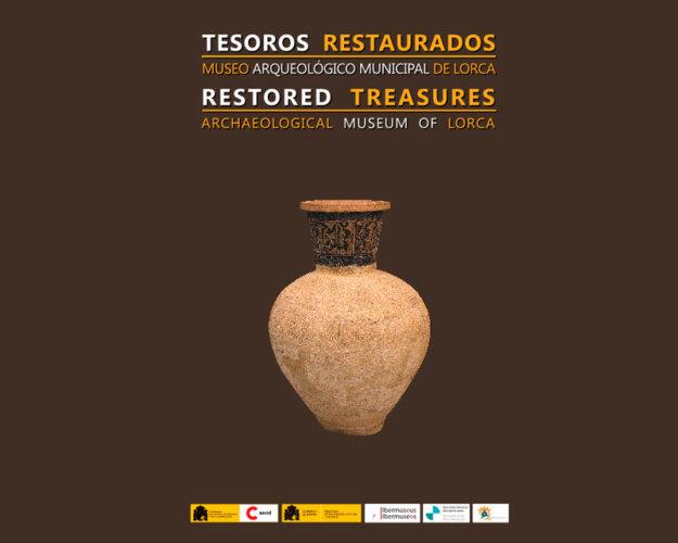 "EXPOSICIÓN TEMPORAL ""TESOROS RESTAURADOS"" DEL MUSEO ARQUEOLÓGICO DE LORCA"