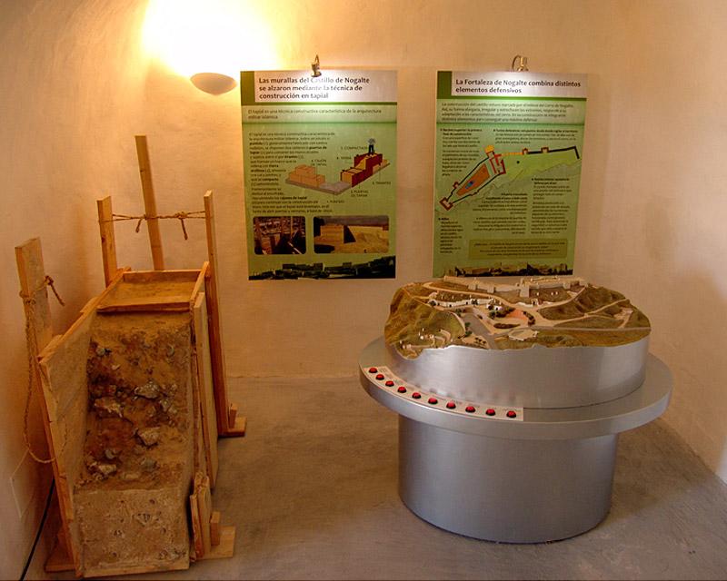 MUSEALIZACIÓN DE LAS CASAS DEL CASTILLO DE NOGALTE (PUERTO LUMBRERAS)