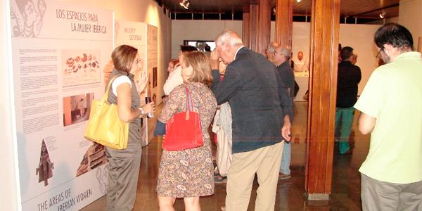Inauguración de la Exposición en Albacete