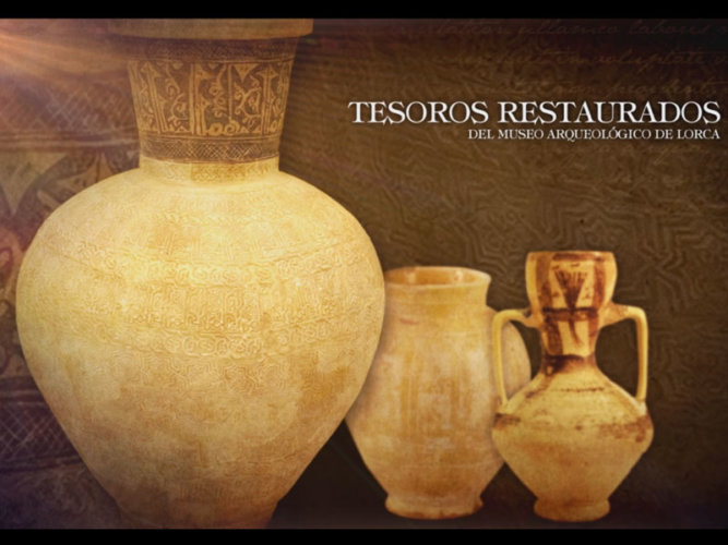 "Audiovisual ""Tesoros Restaurados"""