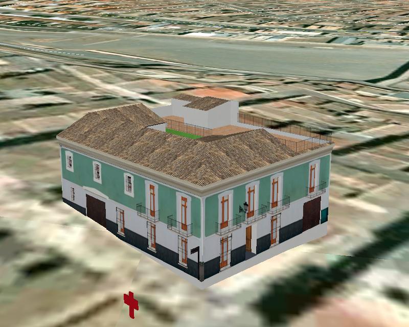 Recreación 3D Casa de los Duendes