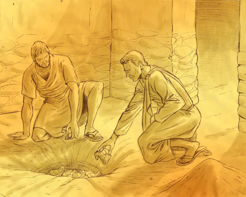 """enterramiento de exvotos en el santuario ibérico de """"El Cigarralejo"""""""