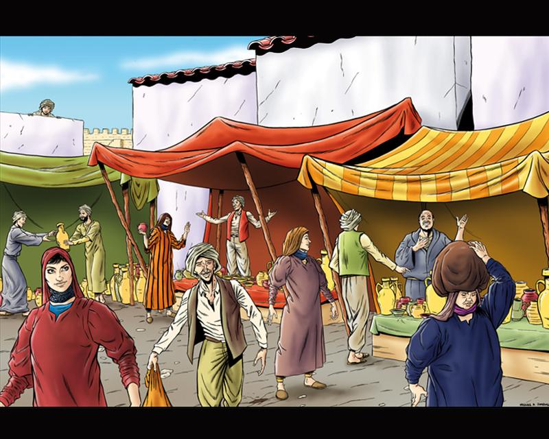 tienda época árabe