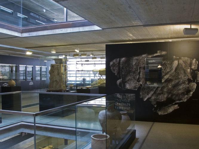 REHABILITACIÓN DE LAS SALAS DEL MUSEO MUNICIPAL JERÓNIMO MOLINA (SECCIÓN ARQUEOLOGÍA)