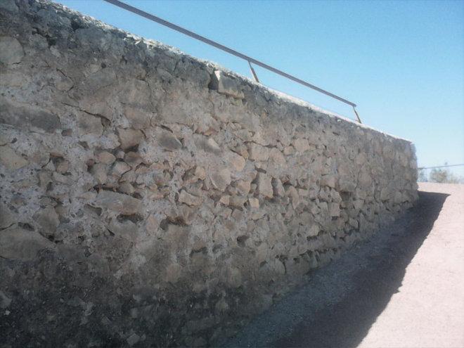 Mantenimiento en Castillo de Lorca