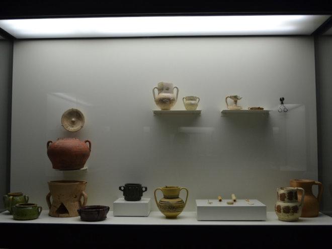 Salas del Museo Arqueológico de Lorca