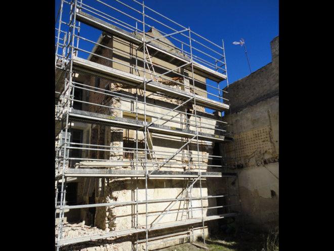 Rehabilitación de edificio histórico en Tarancón