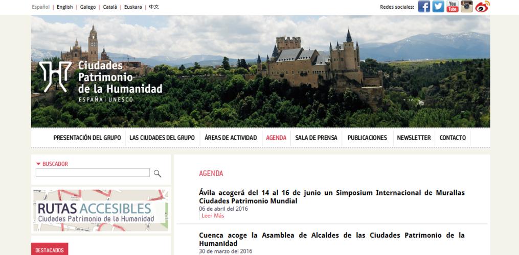Tecnologías web para la difusión del Patrimonio Cultural