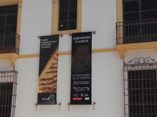 Exposición de Cervantes en Lorca 2016