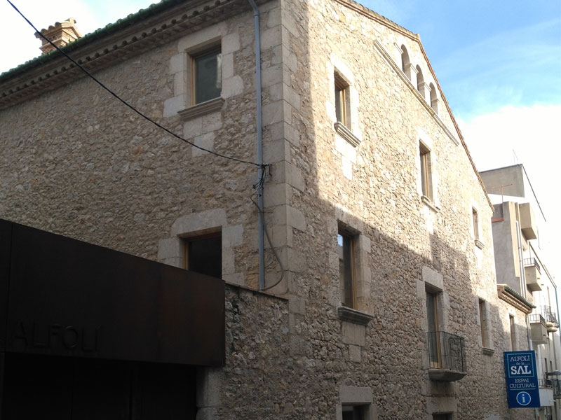 MUSEALIZACIÓN DEL EDIFICIO L'ALFOLI DE LA SAL EN L'ESCALA (GIRONA)