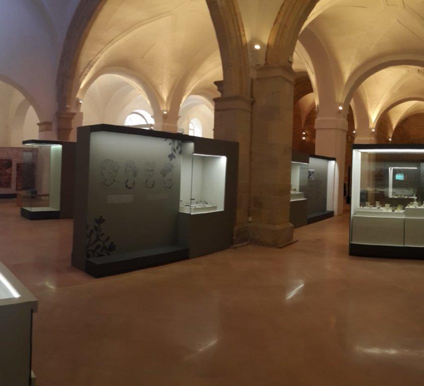 Acondicionamiento y musealiación del Museo de la Iglesia de San Pedro en la villa romana de La Olmeda