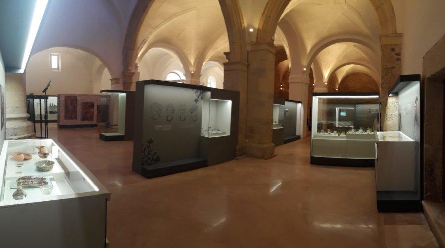 Acondicionamiento y musealización del Museo de la Iglesia de San Pedro en la villa romana de La Olmeda